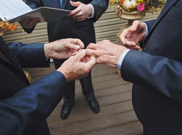Stephen & Jim | Intimate Backyard Wedding | Louisville KY